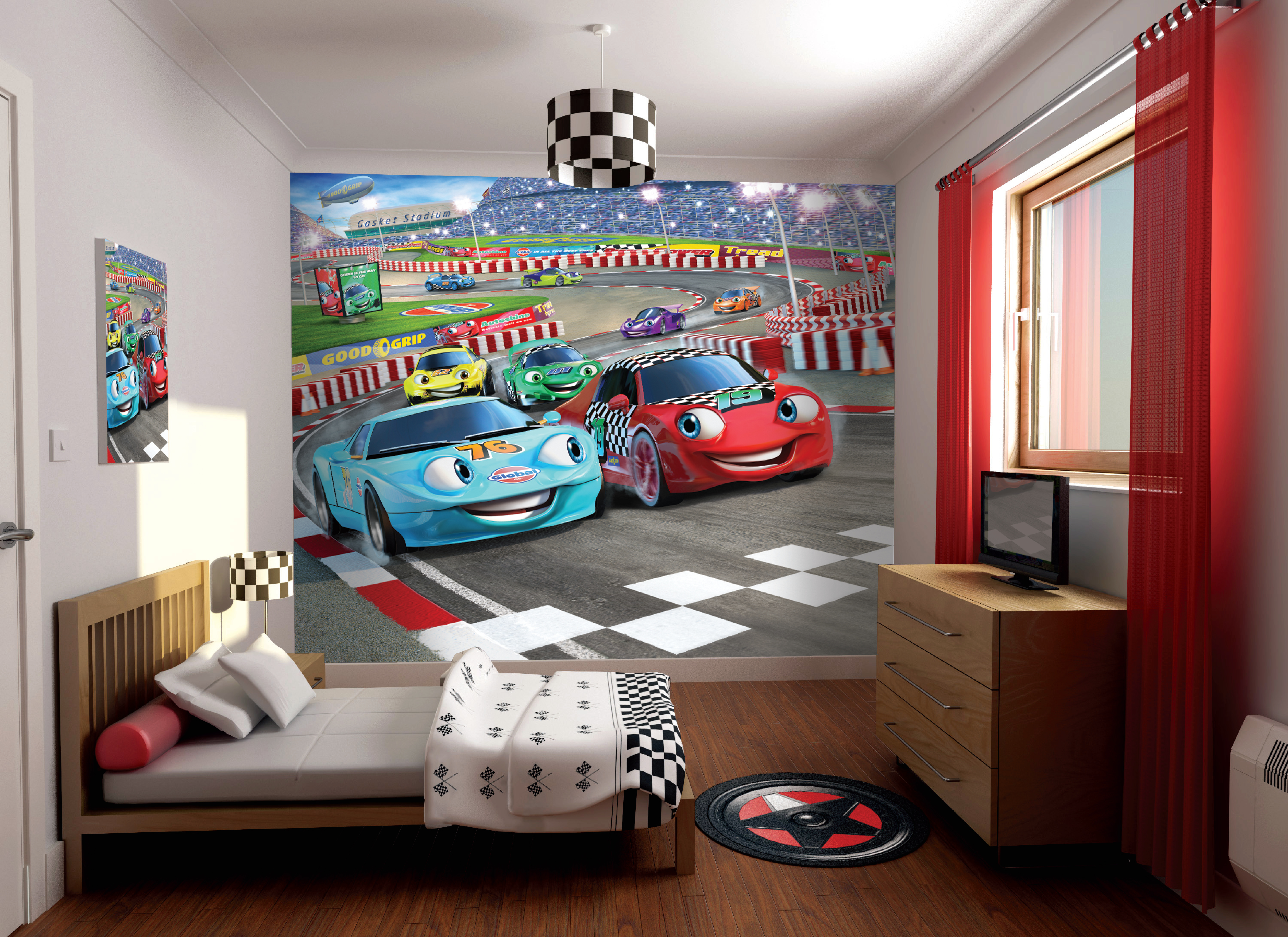 Car Racers 2011 A3 Bedoom Scene