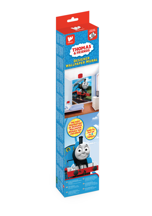Thomas The Tank Engine Bedroom Wallpaper Mural 8ft x 6 6 Walltastic