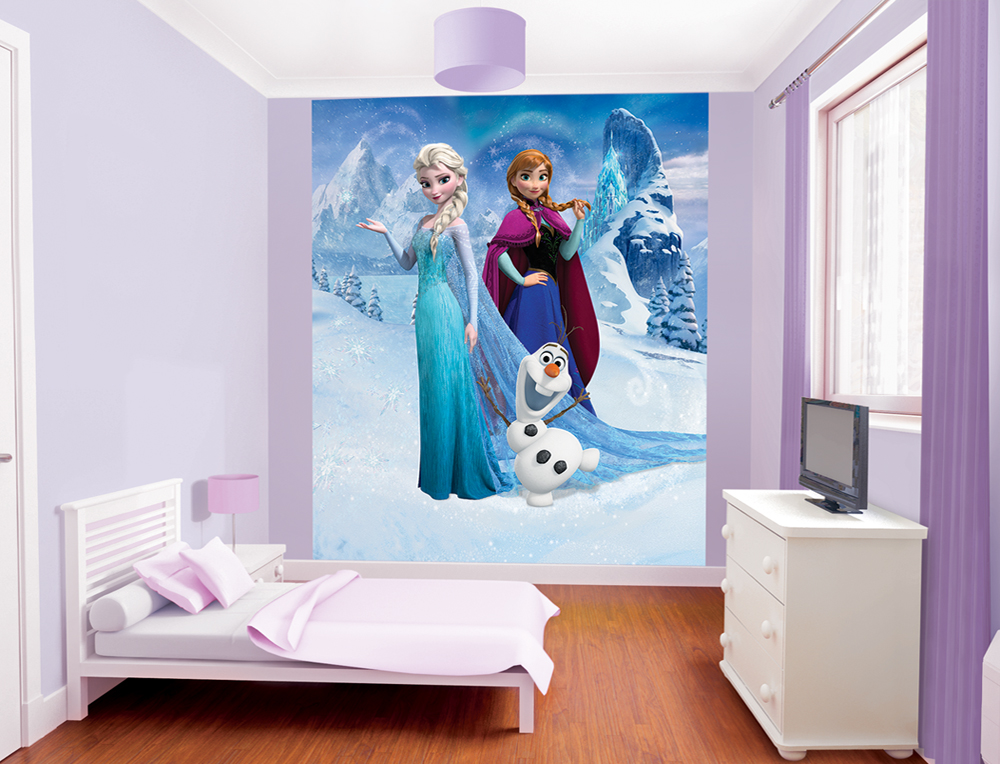 Frozen Bedroom Scene 1000px