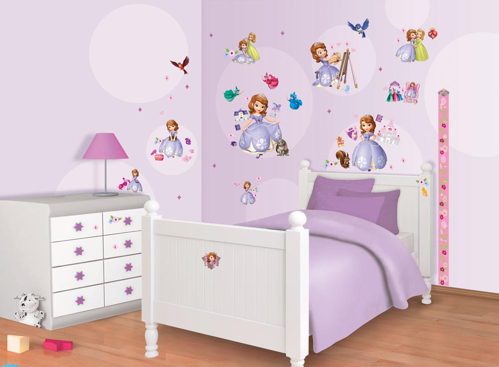Marvelous ... Disney Sofia The First Room Decor Kit