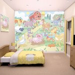 Baby Farm Fun Bedroom Poster 10ft x 8ft