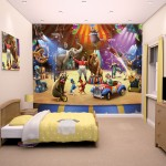 Circus Performers Bedroom Wallpaper Mural 10ft x 8ft