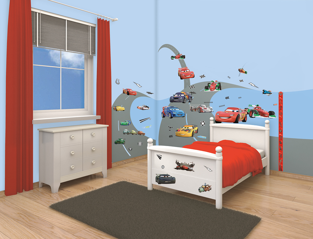kinderzimmer disney cars – quartru