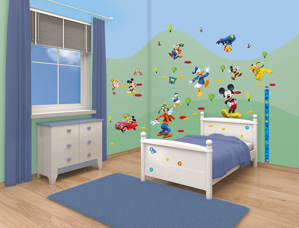 Disney Mickey Mouse Clubhouse Room Decor Kit 41448 Pictures