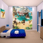 Pirate and Treasure Adventure Bedroom Poster