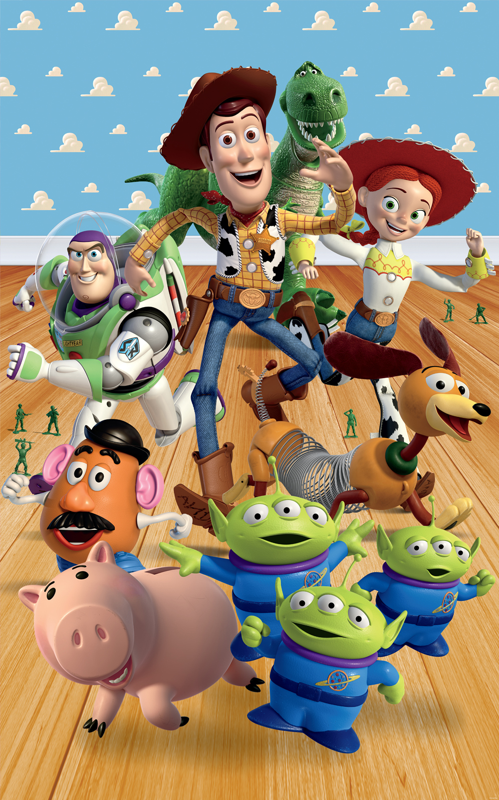 Disney toy story wallpaper poster mural walltastic for more information or for details on how to buy this product contact us amipublicfo Image collections