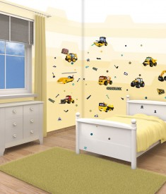 My First JCB Room Decor Kit