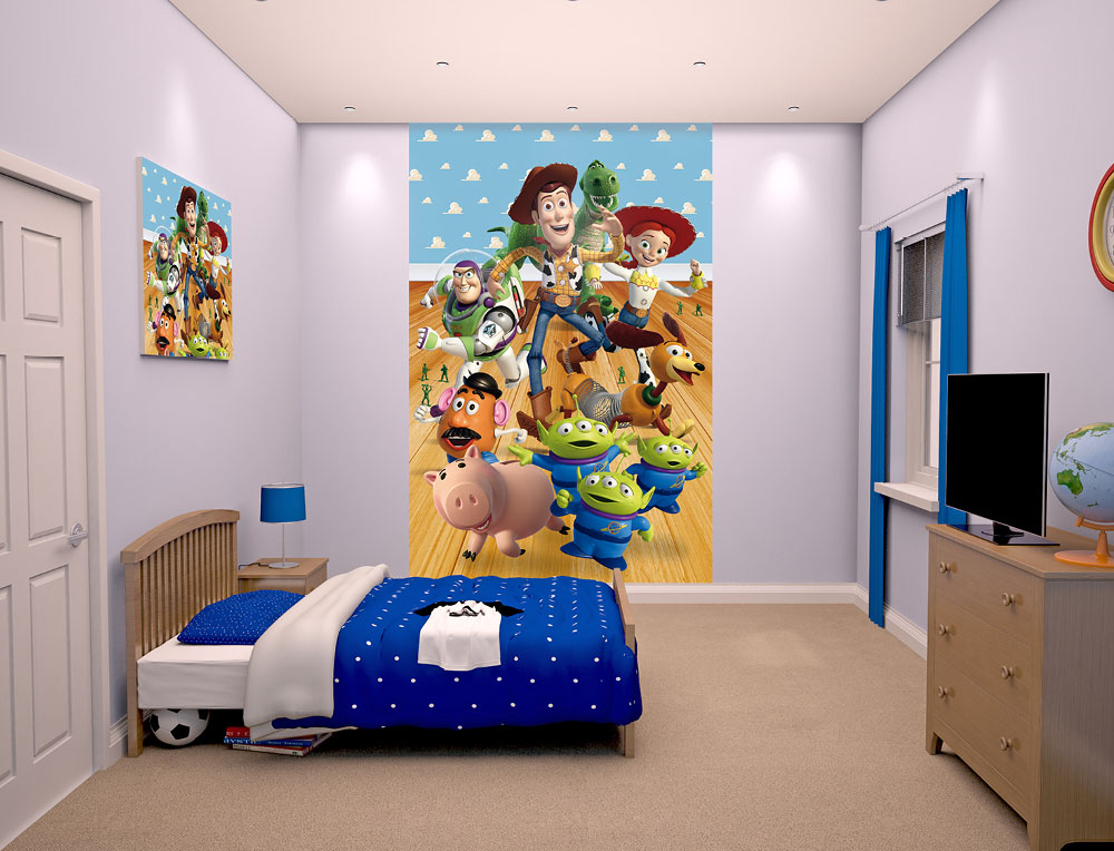 Walltastic Toy Story Bedroom Scene March 2015 1000px