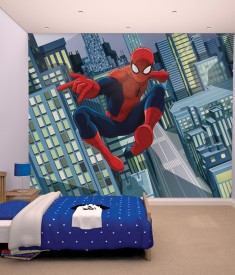 Ultimate Spiderman XL Wallpaper Mural for Childrens & Kids bedroom, photo Mural