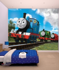 Thomas & Friends XL Wallpaper Mural for Childrens & Kids bedroom, photo Mural