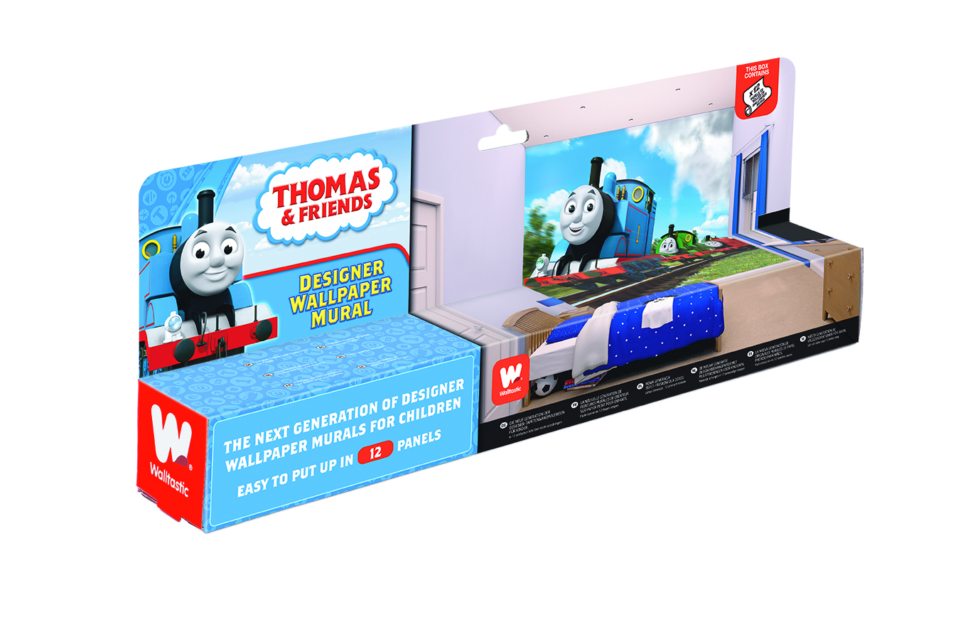 thomas and friends bedroom wallpaper mural 8ft x 10ft walltastic for more information or for details on how to buy this product contact us