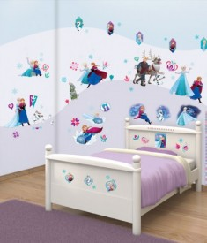 Disney Frozen Movie XL Wall Sticker kit bedroom self adhesive decal sheets