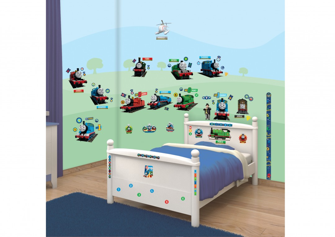 thomas and friends room decor kit 44180 walltastic
