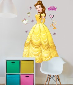 Disney Princess Belle XL Wall Sticker room decal