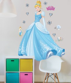 Disney Princess Cinderella XL Wall Sticker room decal