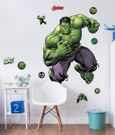 Marvel Incredible Hulk Life Size XL Wall Sticker room decal