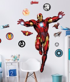 Marvel Iron Man Life Size XL Wall Sticker room decal