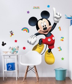 Disney Mickey Mouse Life Size XL Wall Sticker room decal