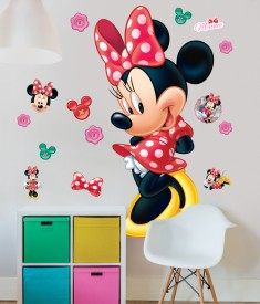 Disney Minnie Mouse Life Size XL Wall Sticker room decal