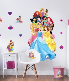 Disney Princess Large Character Bedroom Scene 45514