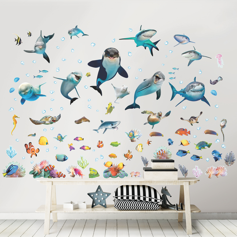 Sea Adventure Room Decor Kit 45453 U2013 NOW AVAILABLE