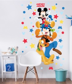 Disney Mickey Mouse Bedroom Scene - 45781