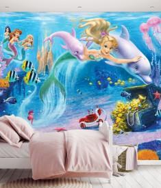 Mermaids_12PC Mural_ Roomset 1000px