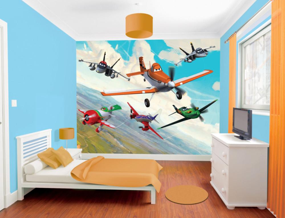 Planes Bedroom Scene A3