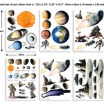 Space Adventure Bedroom Decor Kit
