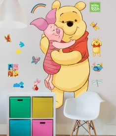 Winnie The Pooh Life Size XL Wall Sticker room nursery decal
