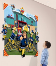 Fireman Sam Child Room Scene 44609