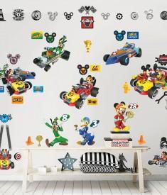 Mickey Mouse RR Room Decor Kit Room Scene 45613
