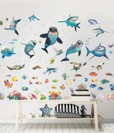 Sea Adventure Room Decor Kit Room Scene 45453