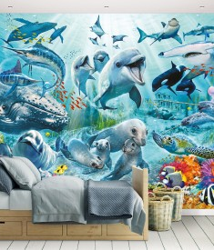 Under_Sea_12PC Mural_ Roomset 1000px